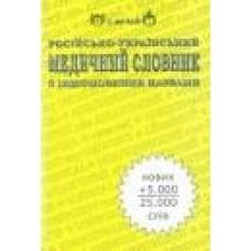 Нечай С.   Росiйско-украiнський медичний словник з iншомовними назвами